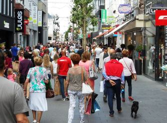 shopping in Hasselt